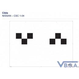 Cible Csc Tool Nissan 1-04 France qualité VBSA