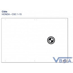 Cible Csc Tool Honda 1-15 Europe