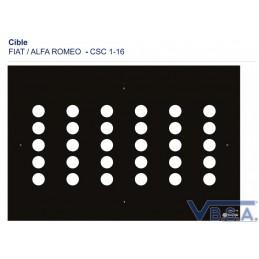 Cible Csc Tool Fiat Alfaromeo 1-16 France qualité VBSA