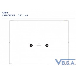 Cible Csc Tool Mercedes 1-02 France pas cher VBSA