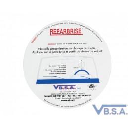 Gabarit Champ De Vision Réparation pare-brise France