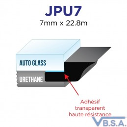 Joint Souple Universel 7Mm X 228M Pose pare-brise France