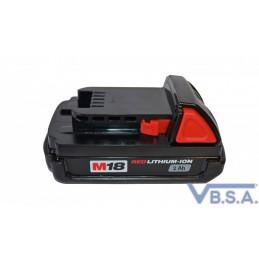 Batterie 18V Lithium En 2 Ah Pour Pistolet Milwaukee 18V Lithium France qualité