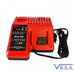 Chargeur Pour Pistolet Milwaukee 18V Europe