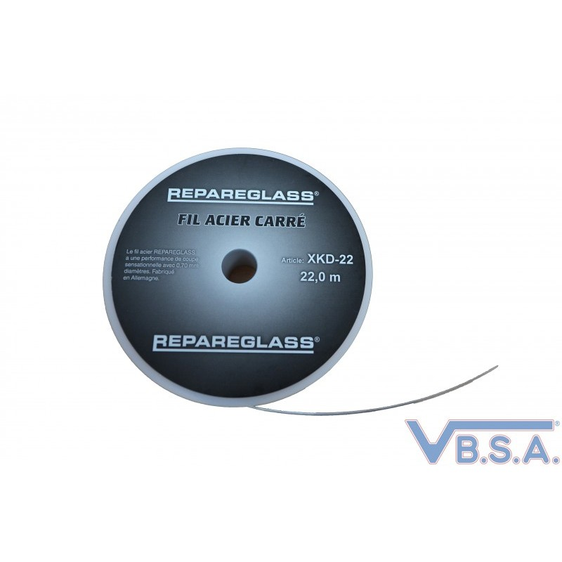 New square cutting wire, Size 0.7 mm - 22ML