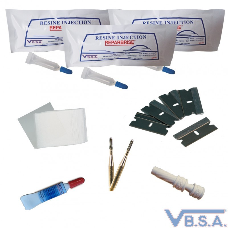 Consumables Pack Special Windshield Repair
