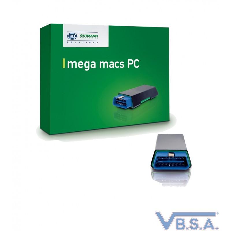 Universal car brand diagnostic device - MEGAMACS PC
