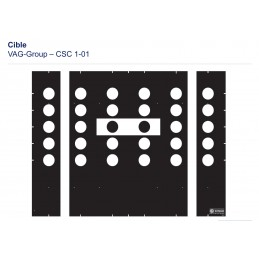 8PZ010624-011 Cible CSC TOOL MOBILE - VOLKSWAGEN M1-01 VBSA