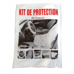 Protection set for inside car