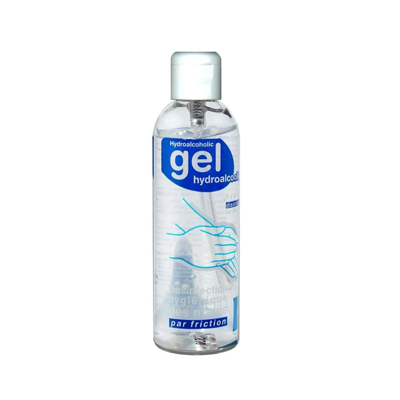 Hydroalcoholic gel range 100 ml bottle