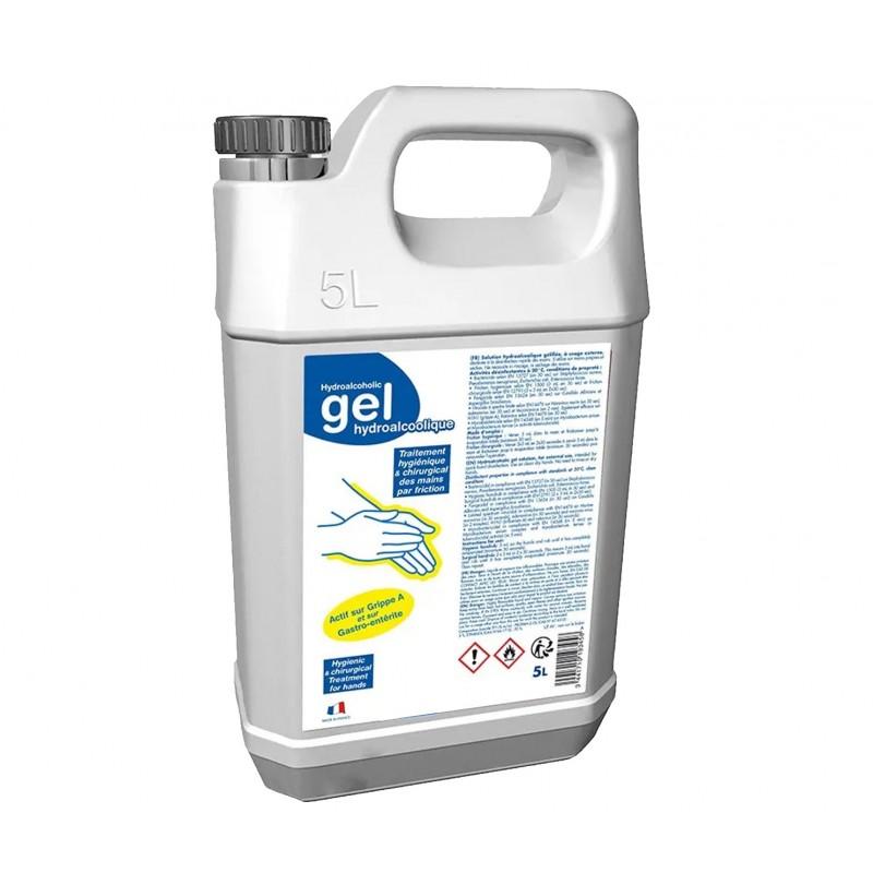 Bidon de gel hydroalcoolique 5 litres
