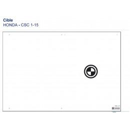 Cible CSC TOOL MOBILE - HONDA M1-15 VBSA