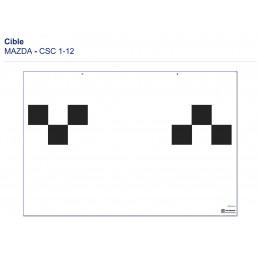 Cible CSC TOOL MOBILE - MAZDA 1 -12 VBSA