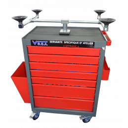 SPECIFIC GLASS CART TROLLEY