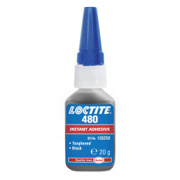 BLACK FAST CURING ADHESIVE