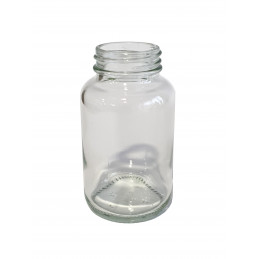 Glass jar for paint for kit...