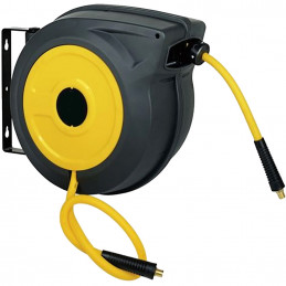 Pneumatic hose reel 15M