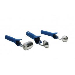 Kit 3 roulettes pour réparation plastique - ROUL-PLAST - VBSA - France - Europe
