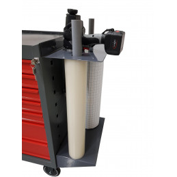 FIX-SERVNOR - Fixation latérale nue pour servante d'atelier + 2 tubes - VBSA - France - Europe