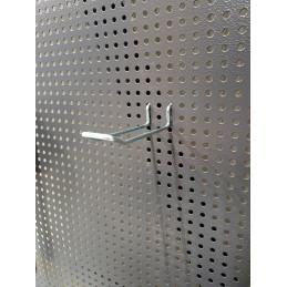 Support d'accessoires double pour grille d'établi