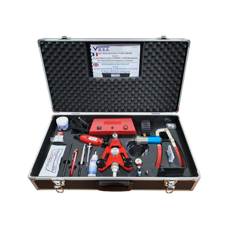REPAR'VIT® NEW GENERATION WINDSHIELD REPAIR Tool box