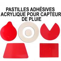 Pastilles adhésives acrylique pour capteur de pluie