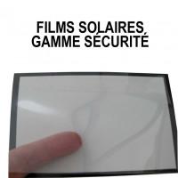 Films solaires gamme Sécurite