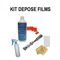 Removal solar films kit