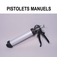 Manual caulking guns