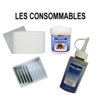 Consumables for windshield repair