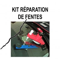 Mallette de réparation pare-brise  spéciale fentes