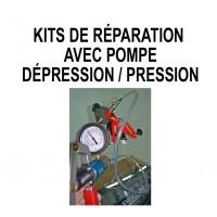 Mallettes de réparation pare-brise avec pompe dépression / Pression