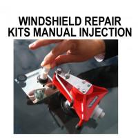 Mallettes de réparation       pare-brise injection manuelle