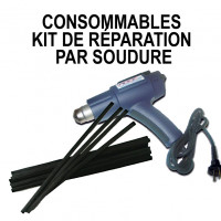 Consumables for welding repair kit