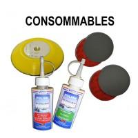 Consommables pour kit restauration optiques de phares