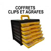 Coffrets clips et agrafes